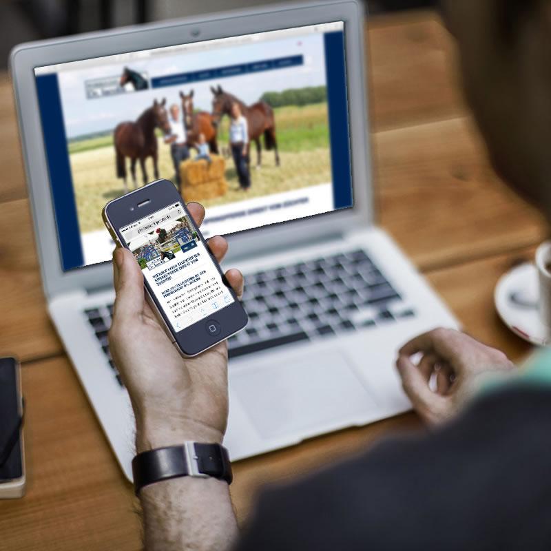 pferdezucht-jacobs.de | Webpräsenz – Pferdezucht