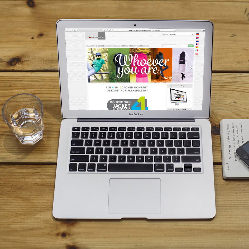 promodoro.com | B to B Onlineshop Promotionwear